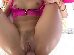 Awesome Brazilian Stunner Gina Valentina Is Fucked In Her Alluring Cooch