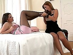 Horny Lesbos Black Angelica Along With Zafira Are Having A Preety Wild Gonzo