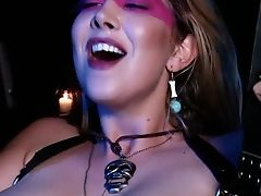 Black Voodoo Boy Gives Samantha And Lexi A Dick To Bounce On