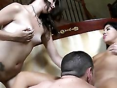 Black-haired Stunner Raquel Does Dirty Things And Then Gets Painted With Jizz