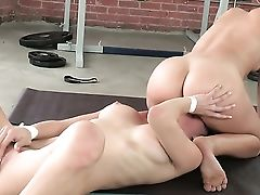 Black-haired Malena Morgan Sates Her Sexual Needs With Alyssa Reece In All Girl Activity
