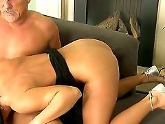 Love Amazing Black-haired Honey Sandra Romain Sucking Hard Christoph Clarks Big Stick