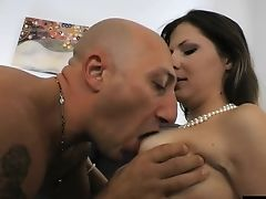 Bombastic Housewife Victoria Can't Wait To Take The Fat Salami Into Bulls Eye
