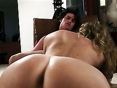 Blonde Mysti May With Big Culo Gets Down On Her Knees To Be Facehole Fucked