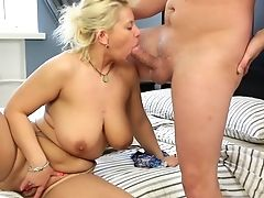 Chubby Matures Luba Love Opens Her Gams To Be Butt-banged. Hd