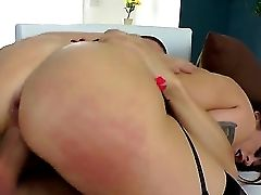 Sensational Trampy Honey Wails And Gasps In Soft Tones As Her Wide Open Cunt Is Drilled