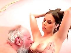 Old Dude Fucks A Latina Gash In Strong Modes