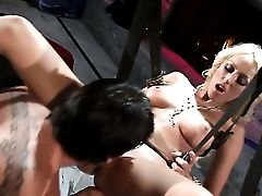 Blonde Breanne Benson Gets Her Taut Cooter Poked