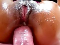 Lana Croft Dual Butt Fucked In Insane Point Of View