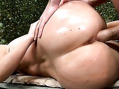James Deen Admires Fabulously Hot Devon Lees Figure After She Takes His Boner In Her Ass-fuck Slot