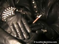 The Leather Mistress - Leather Obsession - Total Leather Tying