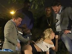 Special Assfuck Orgy With Kimber Delice