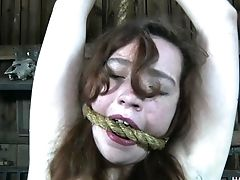Ball-gagged Obedient Natural Whore Maggie Mead Is Worth Some Spanking