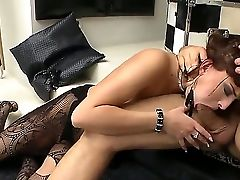 Omar Galanti Makes Two Bitches Blessed In Hot Threesome