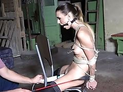 Enslaved Youthful Gal In Scenes Of Brutal Fuck-a-thon