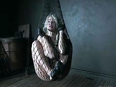 Huge-chested Blonde In Relentless Sadism & Masochism Scenes