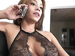 Dark Haired Jamie Valentine With Enormous Tits And Slick Muff Tongues Dudes Muscled Sturdy Man Meat Like Theres No Tomorrow