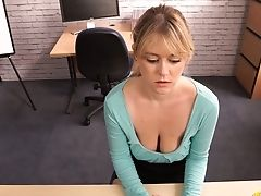 Charming Buxom Lady Brook Little Gonna Flash You Her Saucy Boobies