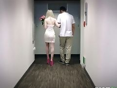 Platinum-blonde Hooker Emma Starletto Is Fucked By Two Well Gifted Studs