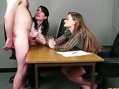 Cfnm Threesome With Superstars Honour May And Jasmine Lau. Hd