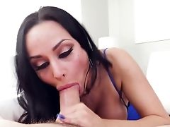 Russian Sexpot Crystal Rush Gives A Legendary Drooly Oral Pleasure And Boobsjob