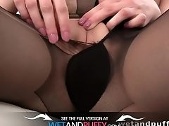 Ripped Stockings - Solo Anal Invasion And More