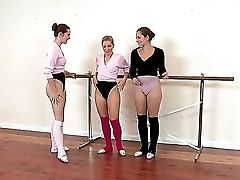 Ashley Fires, Dani Daniels And Melody Jordan At The Training In The Spread Class