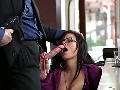 Eva Angelina And Evan Stone Fuck In The Office In