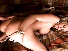 Blonde Julia Ann Fucks Herself With Equipment On Camera For Your Viewing Enjoyment