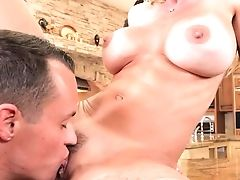 Big-chested Mom Works Sonnie's Dick In Extra Spicy Hard-core