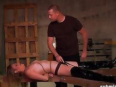 Petite Tits Blondie Daisy Layne Gets Tied Up And Tantalized. Hd