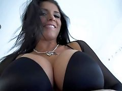 Romi Rain Is A Beautifully Sexy Honey With Lengthy Raven