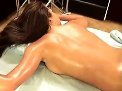 Oiled Up Taut Nubile Brown-haired Stephani Moretti Gets Every Inch