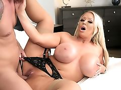 Alura Jenson's Practice Gives Quinton The Best Fuck Of His Life