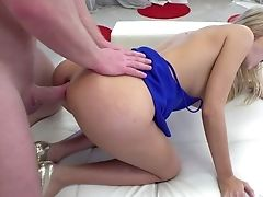 Faux Tittied Hooker Florane Russell Is Fucked By Rocco And His Fellow