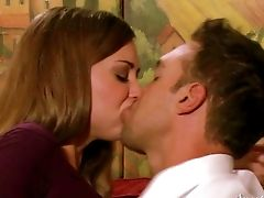 Riley Reid Loses Her Undies After Sultry Smooching. Rocco Reed