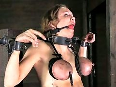Inked Whore Is Getting Aggressively Disciplined By Her Cunning Restrain Bondage Master